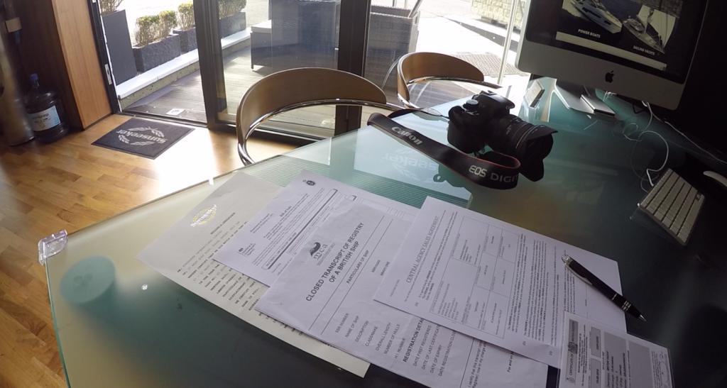 one-marine-paperwork