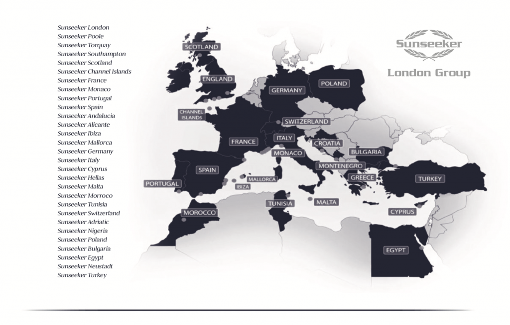 Sunseeker Dealership Locations