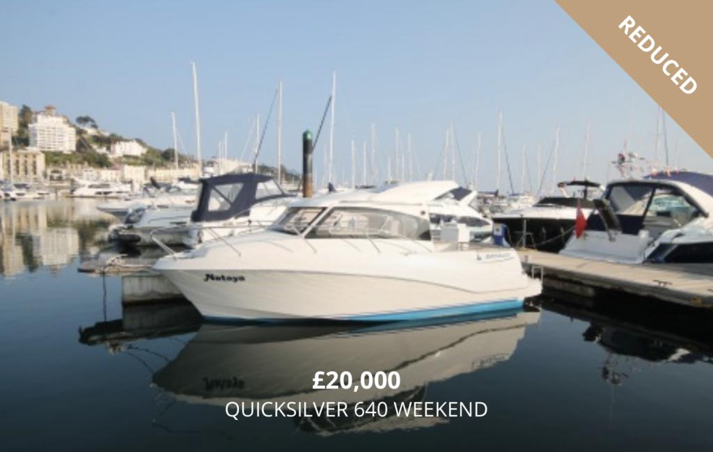 Quicksilver 640 for Sale in Torquay Devon