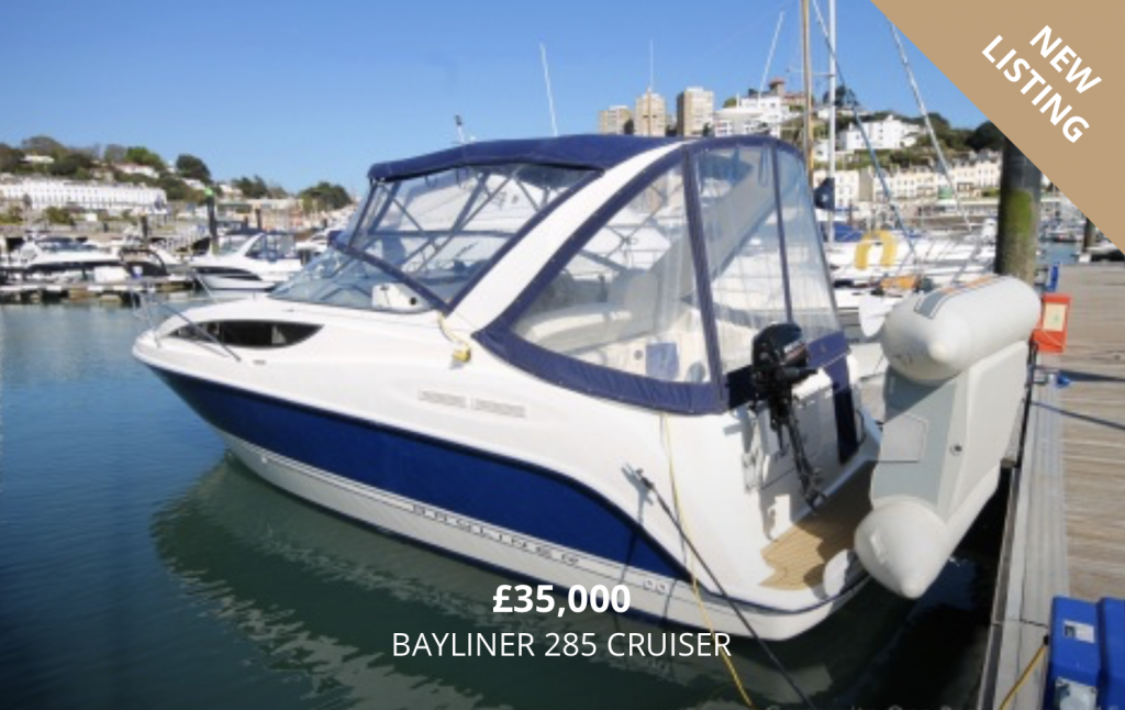 Bayliner 285 for Sale in Torquay Devon