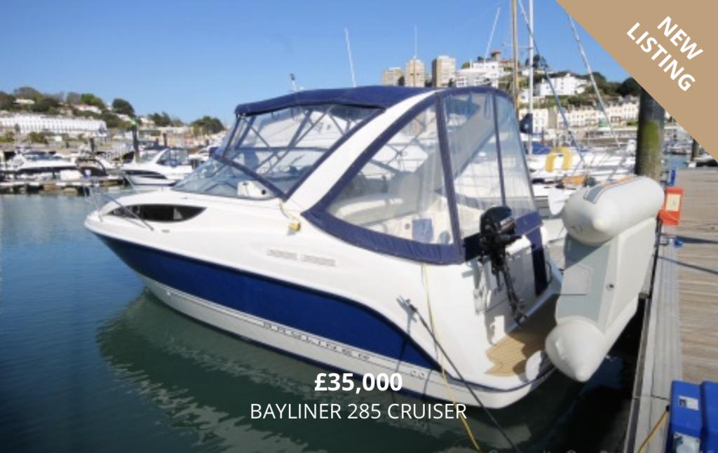Bayliner 285 for Sale in Torquay Devon