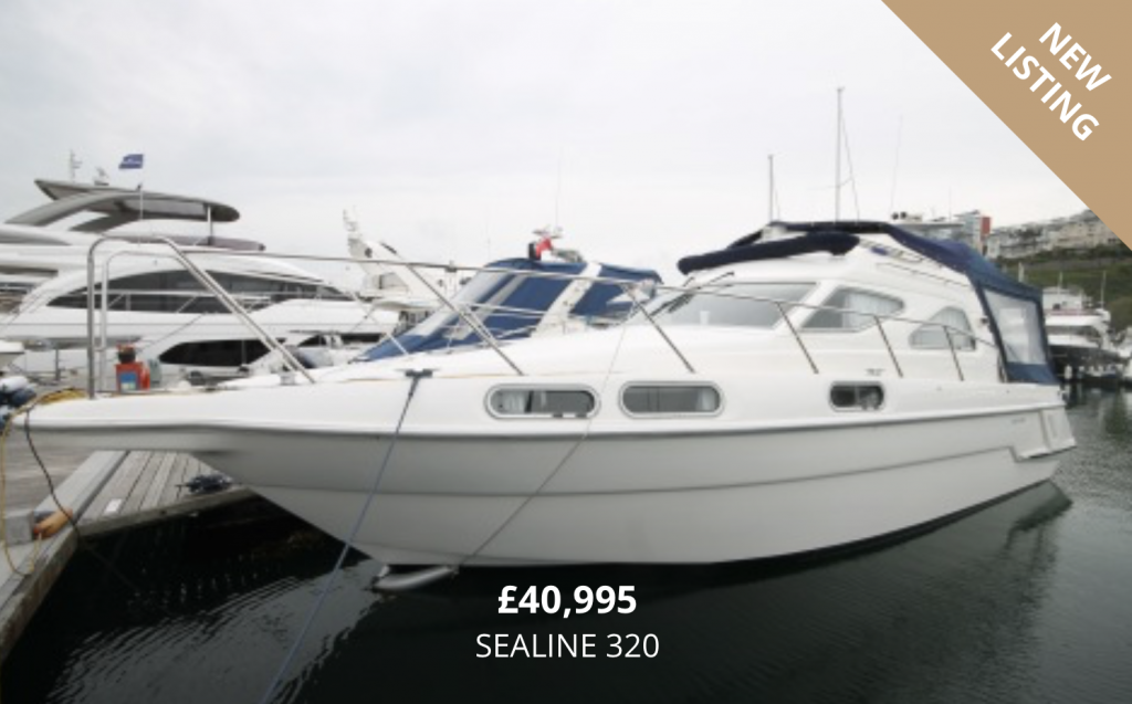 Sealine 320 for Sale in Torquay Devon