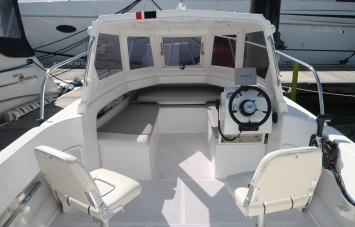 Piscator 580 for Sale cabin