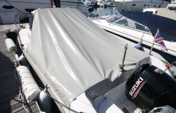 Piscator 580 for sale fitted cabin cover