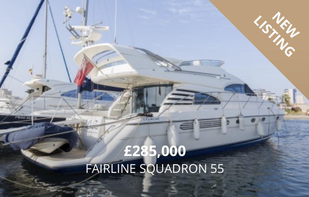 Fairline Squadron 55 for Sale