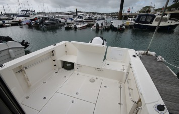 Quicksilver 605 PilotHouse for Sale in Devon - Deck Space and Lockers