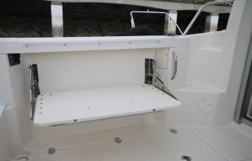 IQuicksilver 605 PilotHouse for Sale in Devon - Port Side Flip Down Bench Seat