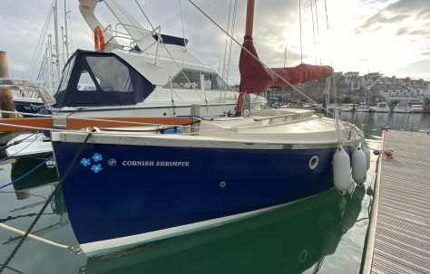 Cornish Shrimper 19 for Sale Devon Somerset