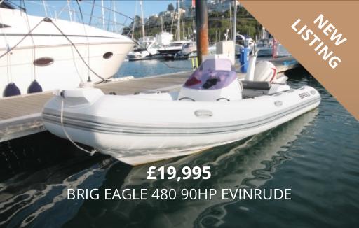 Brig Eagle 480 90HP Evinrude for Sale Torquay