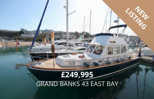 Grand Banks 43 East Bay for Sale in Brixham, Devon