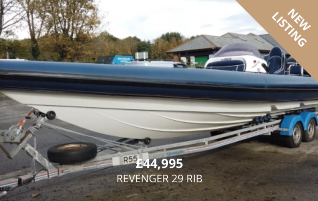Revenger 29 RIB for sale