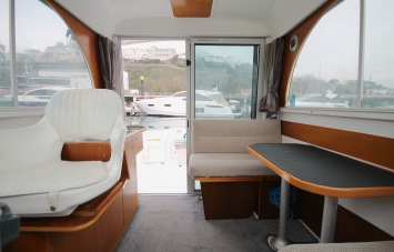 Beneteau Antares 760 for Sale Helm Saloon