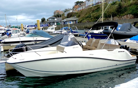 Quicksilver 605 Open 115HP Outboard for Sale in Devon