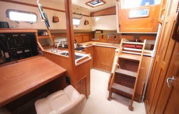 Island Packet 420 Galley
