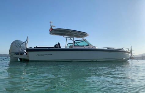 2018 Axopar 28 T-Top with Aft Cabin for Sale in Mallorca, Spain