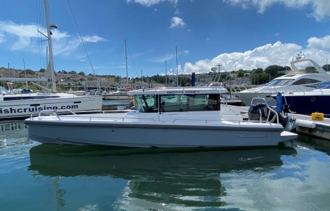 Axopar 28 Cabin for Sale in Plymouth UK