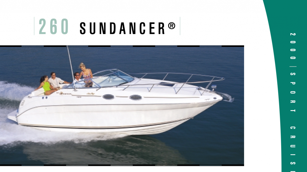 Sea Ray 260 Sundancer Sports Cruiser For Sale in Plymouth Devon