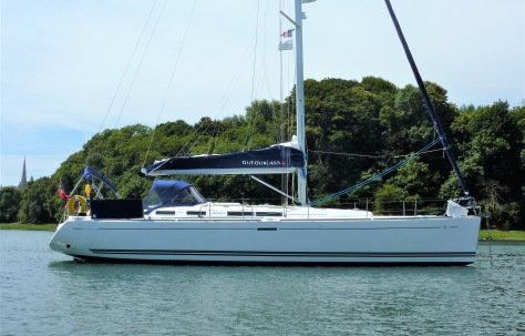Dufour 455 Sailing Yacht for Sale in Devon UK